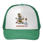 Leaf Blower Man Mesh Hat