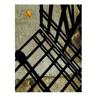 Leaf by the Gate Postcard