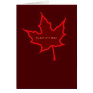 Leaf Card Template