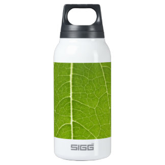 Leaf Closeup Insulated Water Bottle