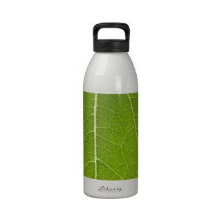 Leaf Closeup Reusable Water Bottle