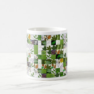 , leaf coffee mugs