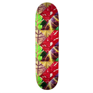 Leaf Collage Skateboard