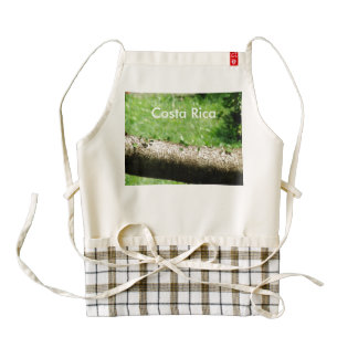 Leaf Cutter Ants in Costa Rica Zazzle HEART Apron