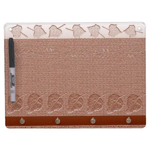 Leaf Design Dry Erase Board