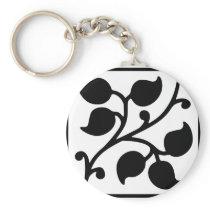 Leaf Design Keychain