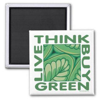 Leaf Design Magnet