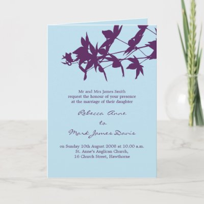 Dark Purple and Light Blue Wedding Ideas photo 8074311