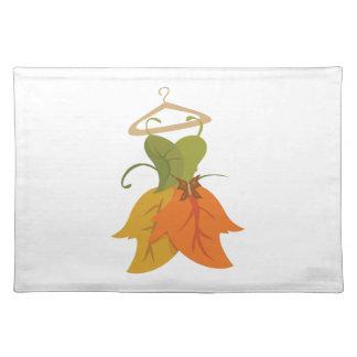 Leaf Dress Place Mats