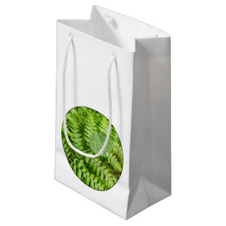 Leaf drops small gift bag