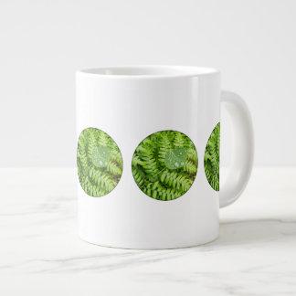Leaf drops large coffee mug