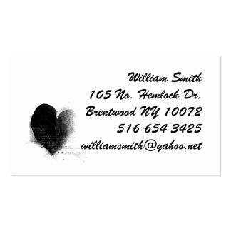 Leaf Etching Business Card