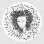 Leaf Fairy Classic Round Sticker