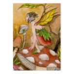 Leaf Fairy Large Business Card