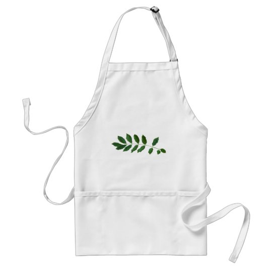 Leaf Fern Nature Party Pack Adult Apron