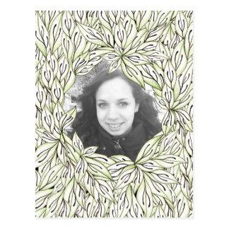 Leaf Frame Postcards