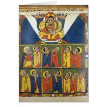 Leaf from Gunda Gunde Gospels Card