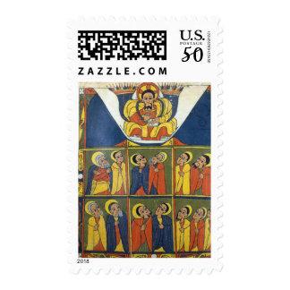 Leaf from Gunda Gunde Gospels Postage