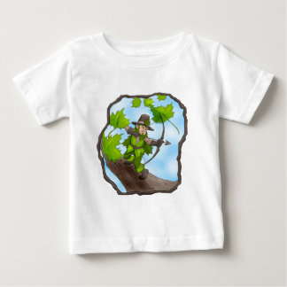 Leaf Gnome of Mythdale Forest Baby T-Shirt
