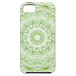 Leaf Green Spiderweb iPhone 5 Covers