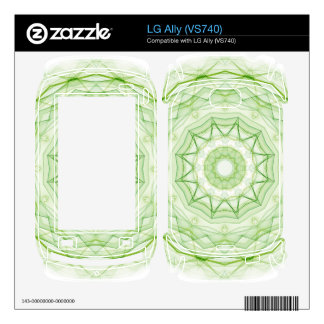 leaf green spiderweb skins for the LG ally