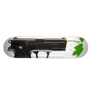 leaf gun skateboard deck