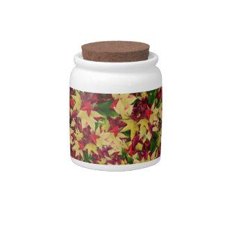 leaf--h candy jars