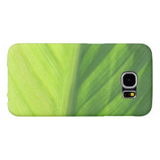 Leaf half in sun samsung galaxy s6 case