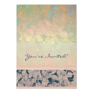 "Leaf Harmony One 5"" X 7"" Invitation Card"