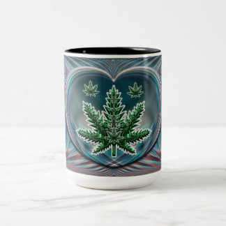 Leaf Heart Mug