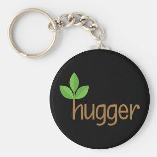 Leaf Hugger Basic Round Button Keychain