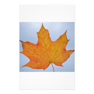 Leaf Image Personalized Stationery