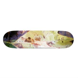Leaf in the Water Custom Skateboard