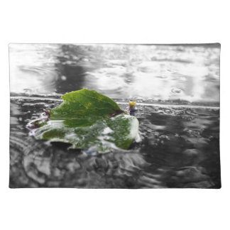 Leaf in Water Placemats