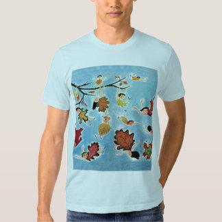 Leaf Kids T Shirt