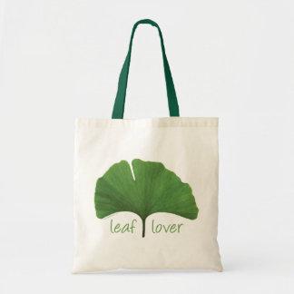 Leaf Lover Tree Hugger Budget Tote Bag