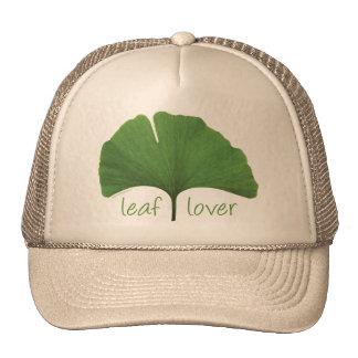 Leaf Lover Tree Hugger Trucker Hat