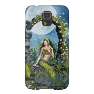 Leaf Mermaid Galaxy S5 Cases