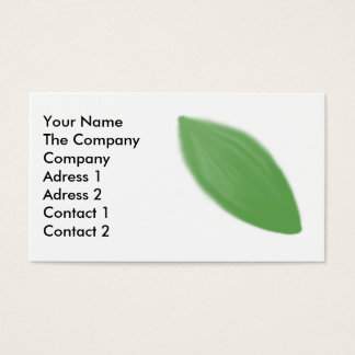 Leaf Motive 1 Business Card