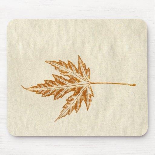 Leaf Nature Prints Mousepad