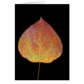 Leaf Notecard