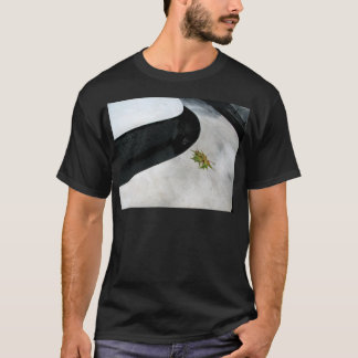 Leaf on Metal T-Shirt