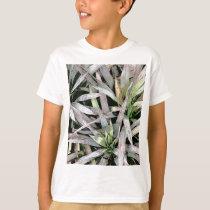leaf pattern botanic theme kid's T-Shirt
