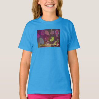 Leaf Pattern by, Mickeys Art And Design T-Shirt