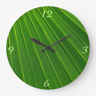 Leaf Pattern Clocks