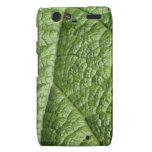 Leaf Pattern Design. Motorola Droid RAZR Cover