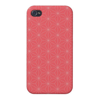 Leaf pattern Japan of the Japanese traditional pat iPhone 4/4S Case