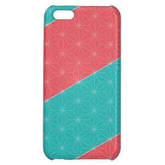 Leaf pattern Japan of the Japanese traditional pat Case For iPhone 5C