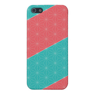 Leaf pattern Japan of the Japanese traditional pat Cover For iPhone 5