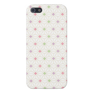 Leaf pattern Japan of the Japanese traditional pat iPhone SE/5/5s Cover